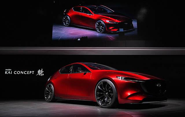 Mazda Kai Concept, Gambaran Mazda3 Generasi Baru