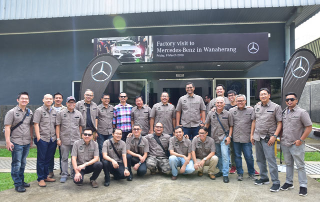 Apresiasi Dealer, Mercedes-Benz Indonesia Gelar 'Mercedes-Benz Dealer of the Year 2017'