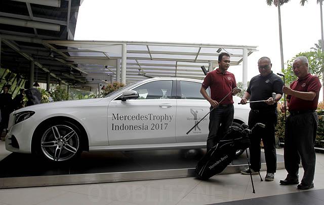 MercedesTrophy Indonesia 2017 Beri Kesempatan Pegolf Amatir Berprestasi