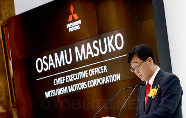 10 Kendaraan Listrik dari Mitsubishi untuk Pemerintah RI