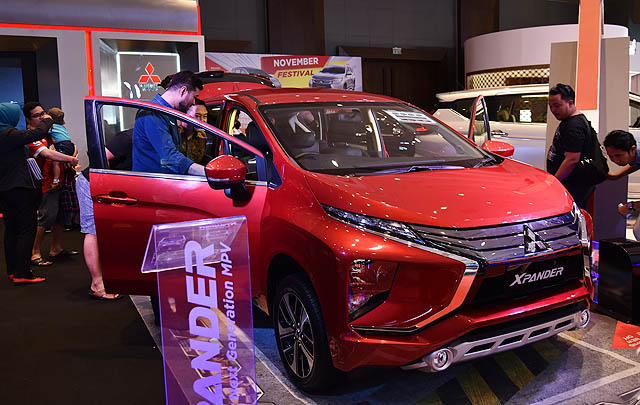 Mitsubishi Xpander Hadir di GIIAS Medan Auto Show 2017