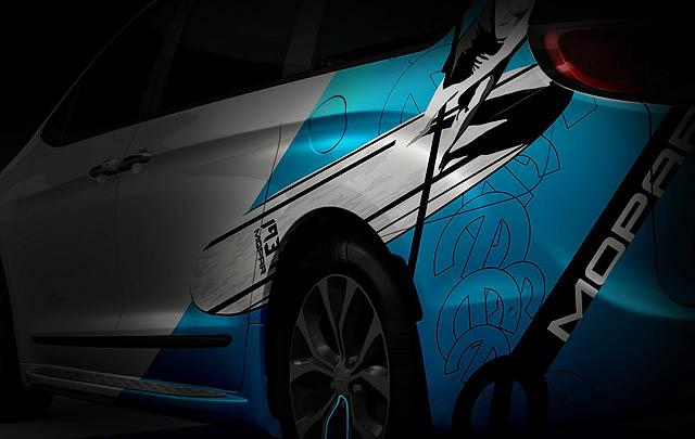 4 Mobil Kustom Mopar Siap Ramaikan SEMA Show 2016