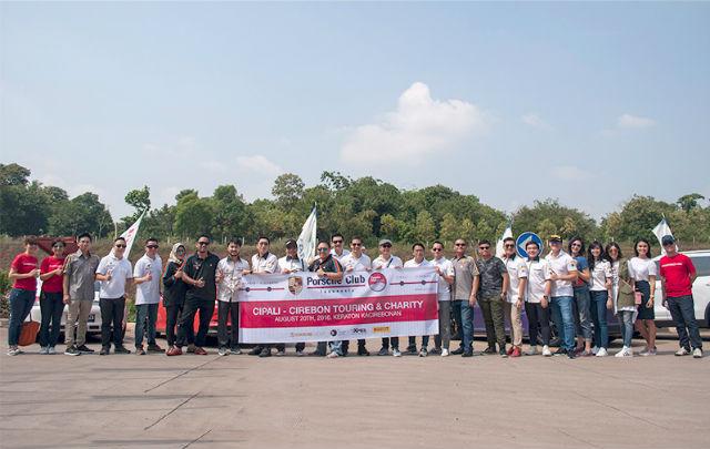 PCI Jajal Tol Cipali Sembari Baksos ke Cirebon