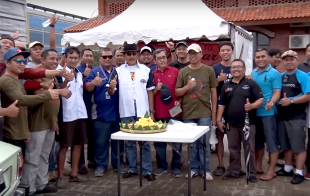 Puluhan Klub Otomotif Hadiri HUT Ke-2 La Famille De 505 Community