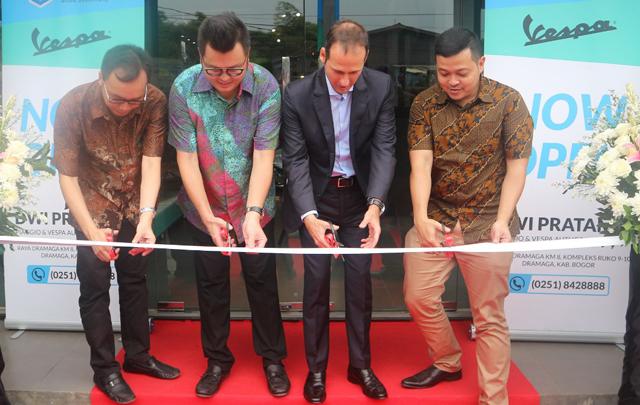 PT Piaggio Indonesia Resmikan Diler Resmi Keduanya di Bogor