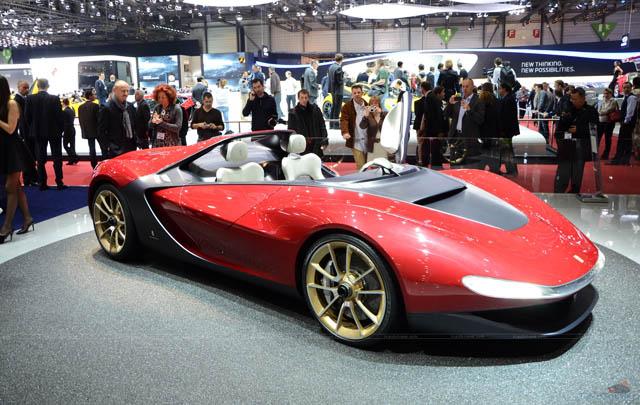 Pininfarina Sergio Concept Hadir di London