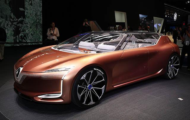 Renault Symbioz Concept Pukau Pengunjung Frankfurt 2017