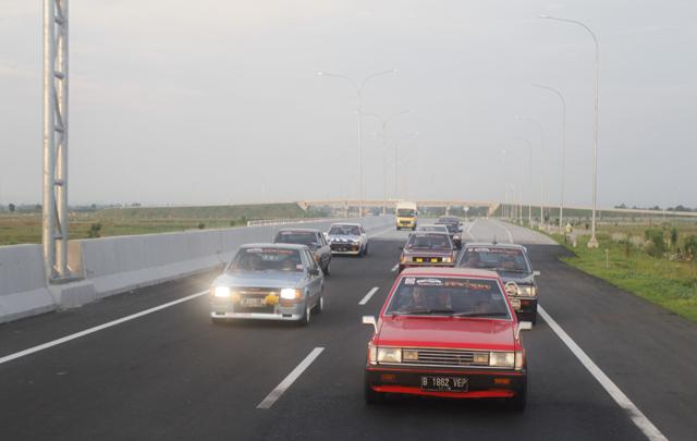 Perjalanan SL Neverdie Chapter Jakarta Menuju Retromantic 7 di Yogyakarta