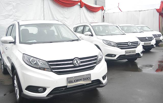 Sokon Glory 580 Siap Tantang Pasar SUV Indonesia