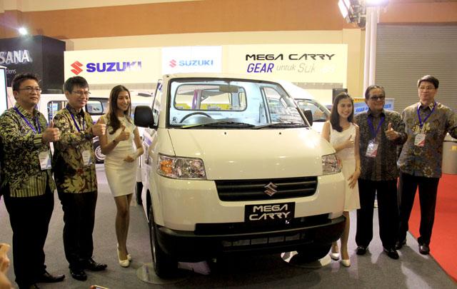 PT SIS Perkenalkan Suzuki Mega Carry di GIICOMVEC 2018