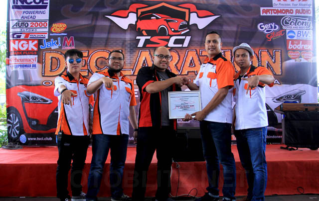 Berbagai Klub Otomotif Hadiri Deklarasi TSCI