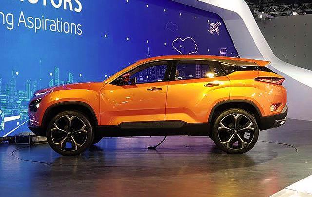 Tata H5X Crossover Concept Resmi Debut di Delhi Auto Expo 2018