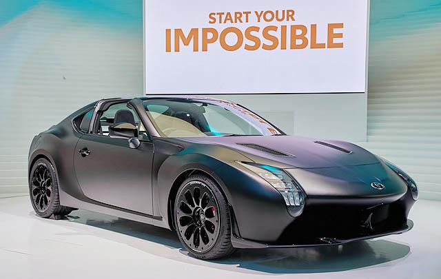 Toyota GR HV Sports, Usung Teknologi Le Mans di Tokyo 2017