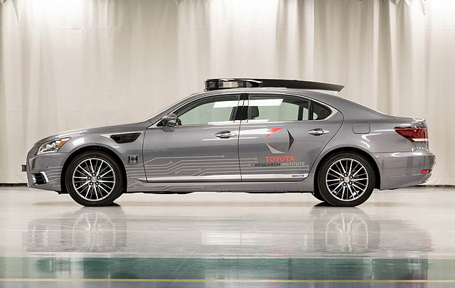 Toyota Siap Boyong Prototipe Mobil Otonom Terbaru di CES 2018
