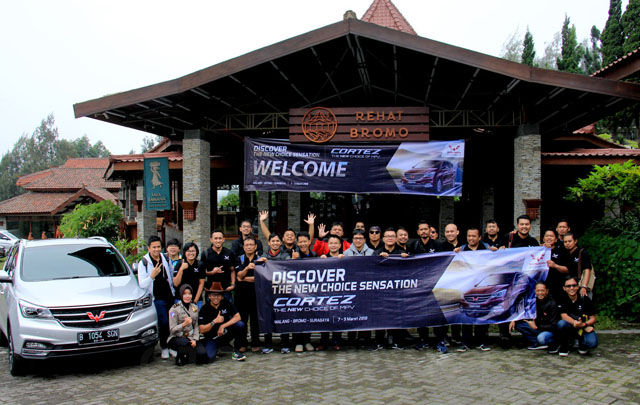 'Discover The New Choice Sensation', Wuling Cortez Jelajah Malang-Bromo-Surabaya