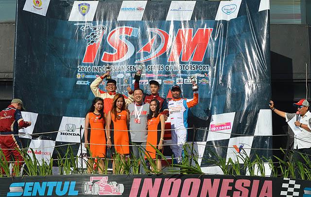 Tampil Impresif, ABM Motorsport 'Kunci' Gelar Juara Umum ISSOM 2016