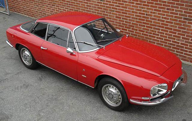 Klasik dan Langka: Alfa Romeo 2600 SZ 1964
