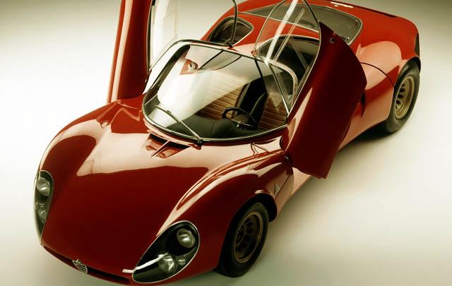 Klasik dan Langka: Alfa Romeo Tipo 33 Stradale 1967