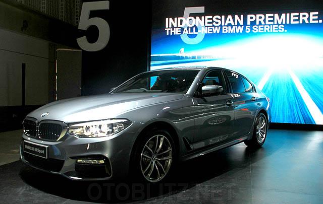 BMW Seri 5 Generasi Ketujuh Resmi Meluncur di Indonesia