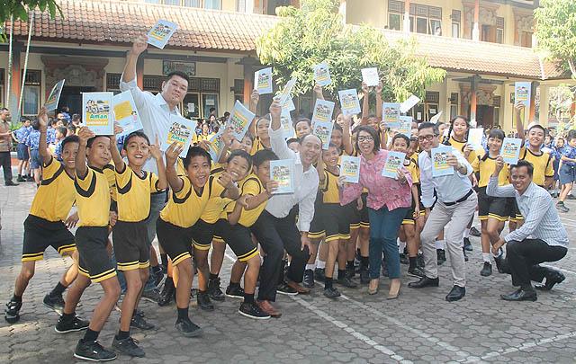 Kampanye 'Aman Bersama Chevrolet' Edukasi 4.000 Siswa SD di Enam Kota