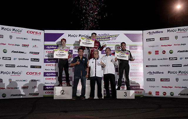 Amandio Sabet Gelar Juara AMF 2016 di Yogyakarta