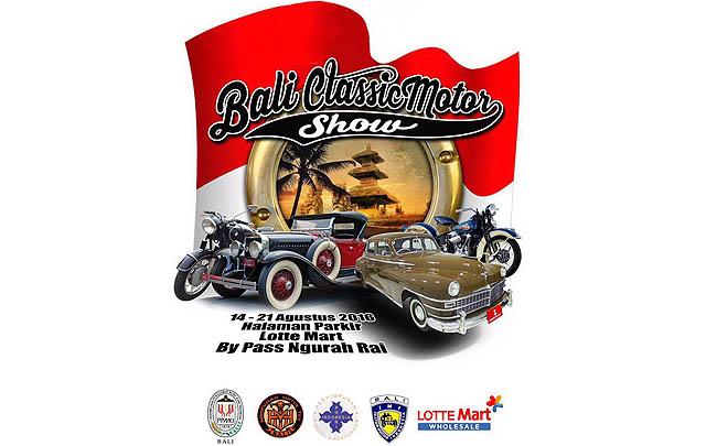 Bali Classic Motor Show 2016 Segera Digelar 14-21 Agustus