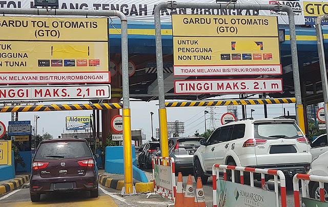 Mulai Oktober 2017, Seluruh Gerbang Tol Bisa Bayar Non-Tunai