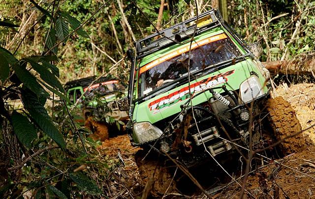 'Berau 4x4 Tropical Challenge 2017' Tantang Offroader dengan Trek Ekstrim