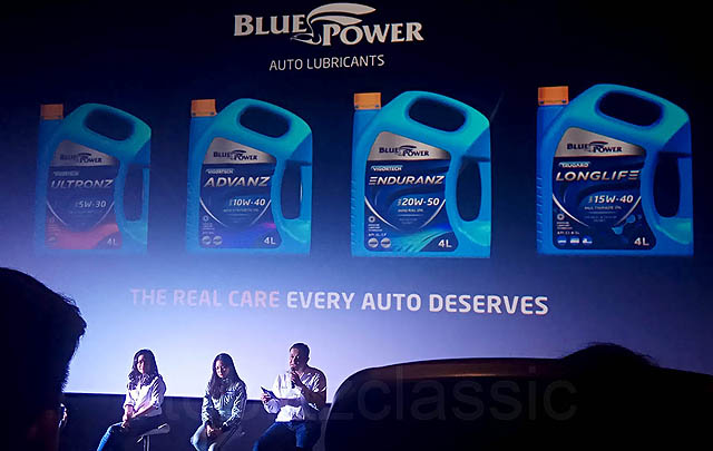 Blue Power, Oli Pelumas Segala Tipe Kendaraan Resmi Diluncurkan