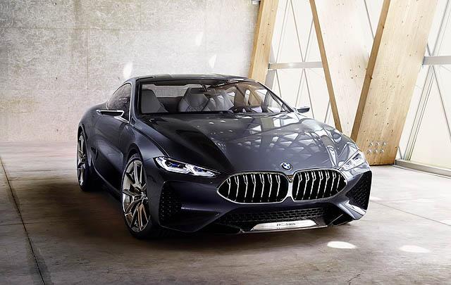 BMW Seri 8 Concept Tampil Maskulin di Frankfurt 2017