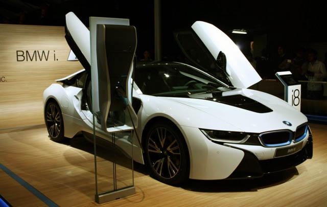 BMW i8 Hybrid Rilis di Auto Expo 2014