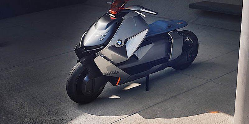 BMW Motorrad Perkenalkan Skuter Masa Depan Concept Link