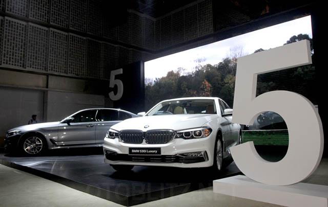 Sukses di GIIAS 2017, All-New BMW Seri 5 Diperkenalkan di Surabaya
