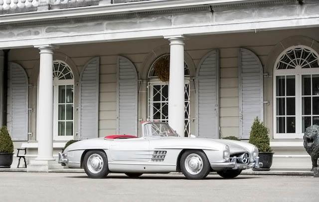 Barisan Mobil Mewah Klasik Eropa Siap Dilelang