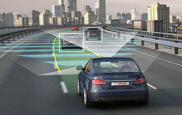 Bosch Ciptakan Peta Berbasis 'Radar Road Signature'