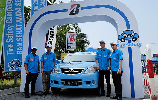 Bridgestone Gelar Kampanye Tahunan 'Tire Safety' ke-9