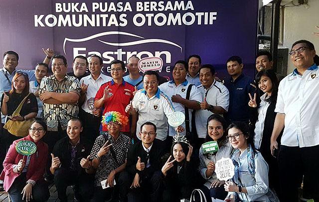 Pertamina Lubricants Gelar Buka Bersama Komunitas 'Fastron Weekend Drive'