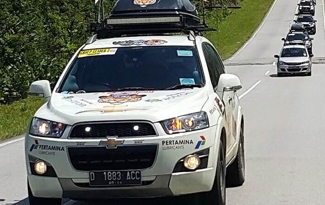 Captiva Chevy Club Indonesia Turing ke Tiga Negara