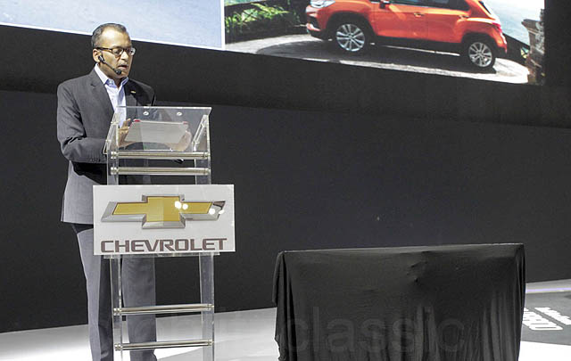 Chevrolet All New Colorado Debut di IIMS 2017