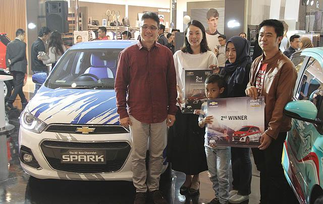 Chevrolet Hadirkan Desain Batik & Maritim pada  All-New Spark