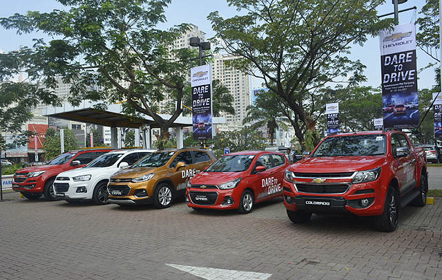 Chevrolet Gelar 'Dare to Drive', Tantang Adrenalin Anda!