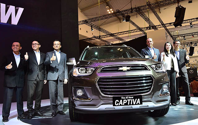 Luncurkan All-New Captiva, Chevrolet Indonesia Gelar Gathering