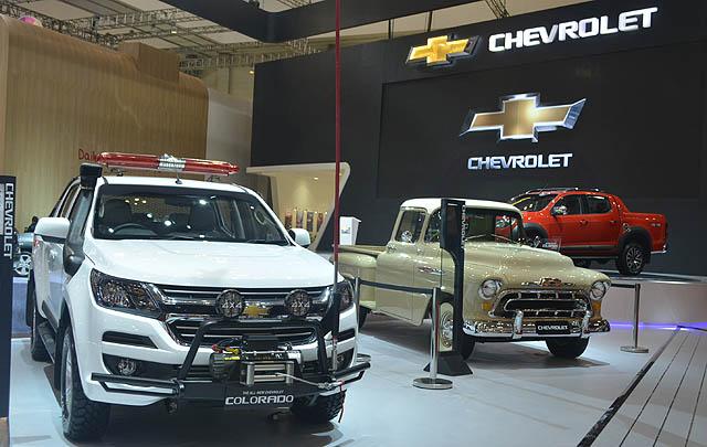 Chevrolet Raih Penghargaan 'Favorite Booth' di GIIAS 2017