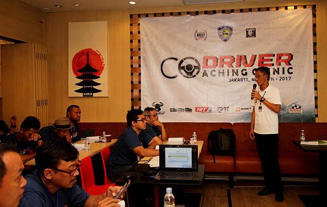 65 Peserta Ikuti 'Co-driver Coaching Clinic'