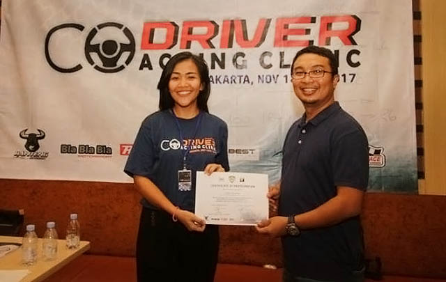 65 Peserta Ikuti 'Co-driver Coaching Clinic'