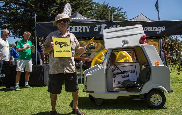 Concours d'LeMons 2014, Pameran Mobil Unik di Pebble Beach
