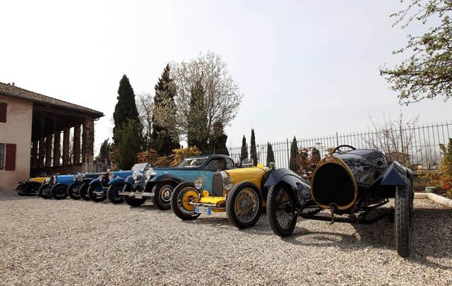 Bugatti Langka Tampil di Trofeo Salvarola Terme 2014