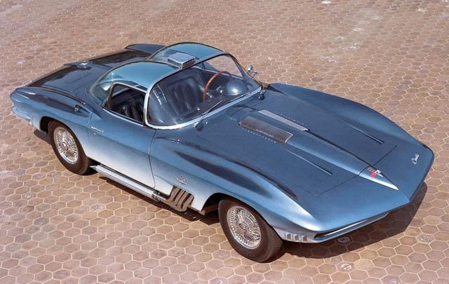 Konsep Retro Unik: Chevrolet Corvette Mako Shark 1961
