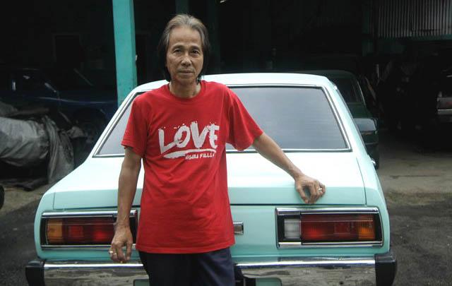 Sidarto SA, ikut andil dalam mengangkat kejayaan Datsun di Indonesia./ Foto-foto: Novriyadi