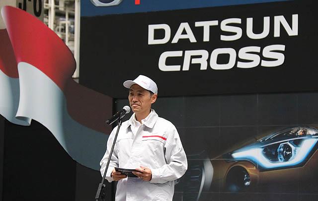 Produksi Datsun CROSS di Indonesia Dimulai